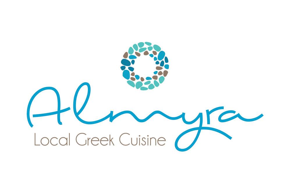 λογότυπο εστιατορίου Almyra