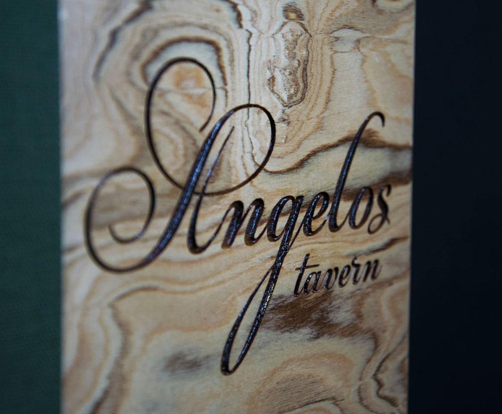 κατάλογος menu Angelos Tavern