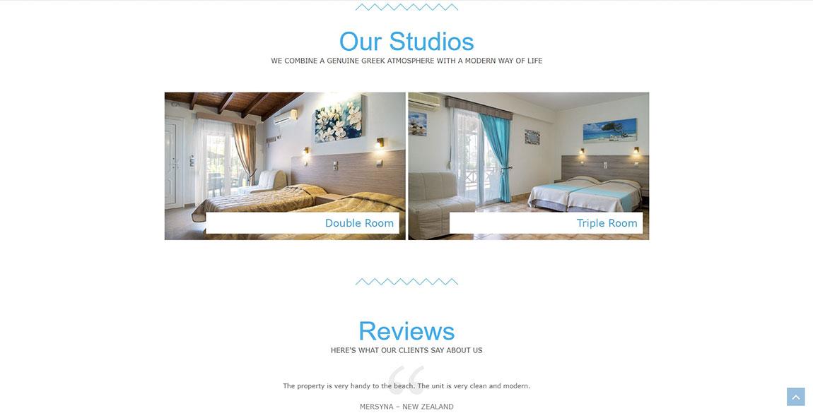 κατασκευή ιστοσελίδας Nikos Studios - Beach Volley Potokaki
