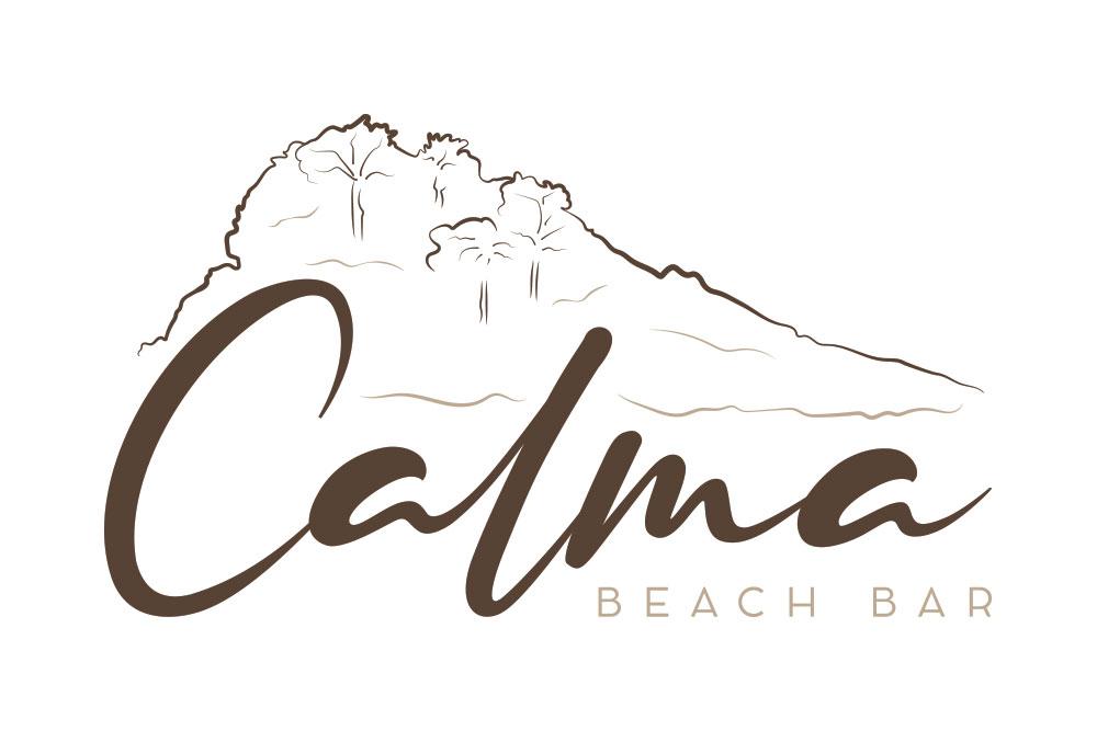 λογότυπο Calma Beach Bar