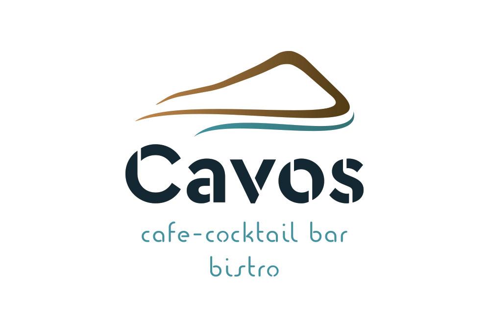 λογότυπο Cavos cafe cocktail bar bistro