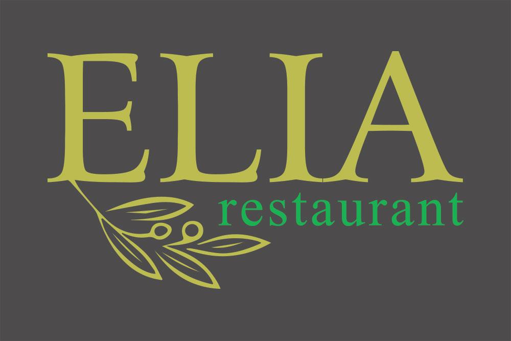 λογότυπο εστιατορίου Elia