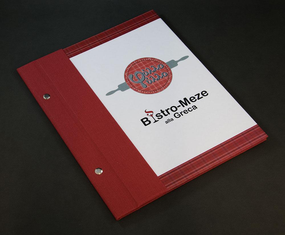 κατάλογος menu Φύλλο Φύλλο Bistro