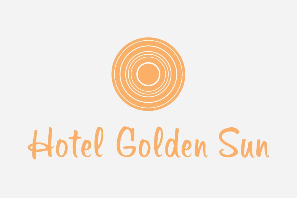 λογότυπο ξενοδοχείου Golden Sun Hotel