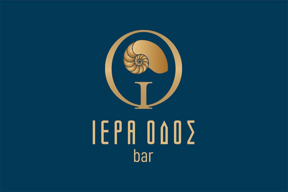λογότυπο bar Ιερά Οδός