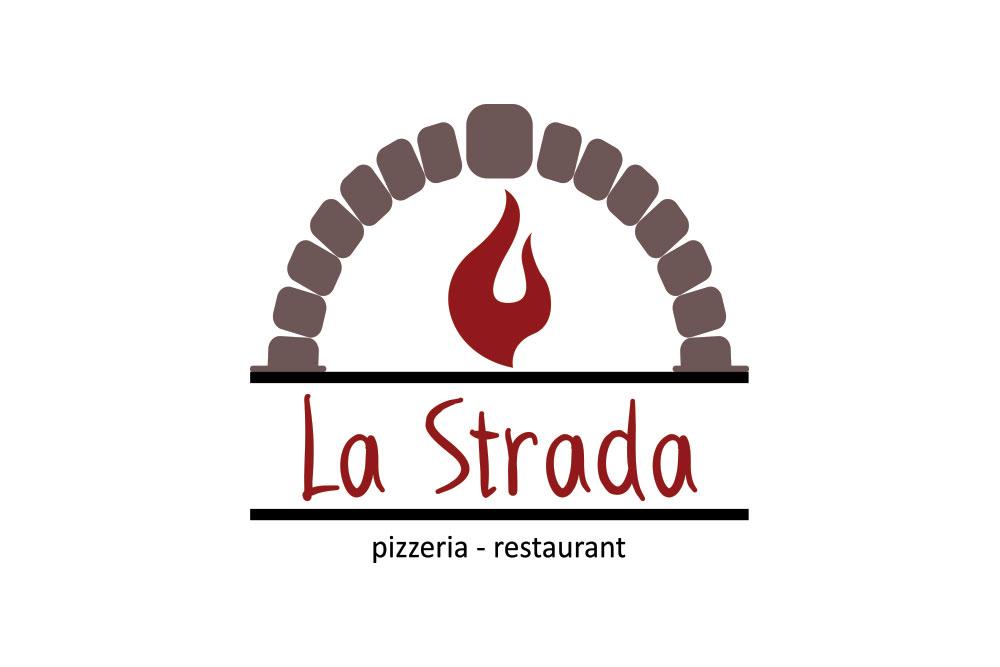 λογότυπο εστιατορίου La Strada