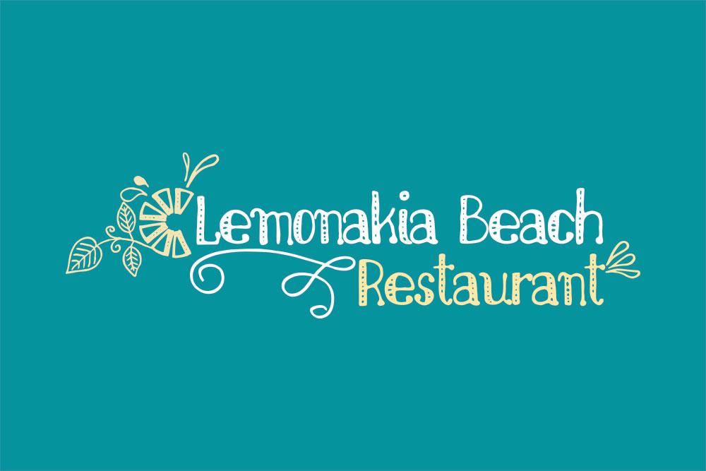 λογότυπο εστιατορίου Lemonakia Beach