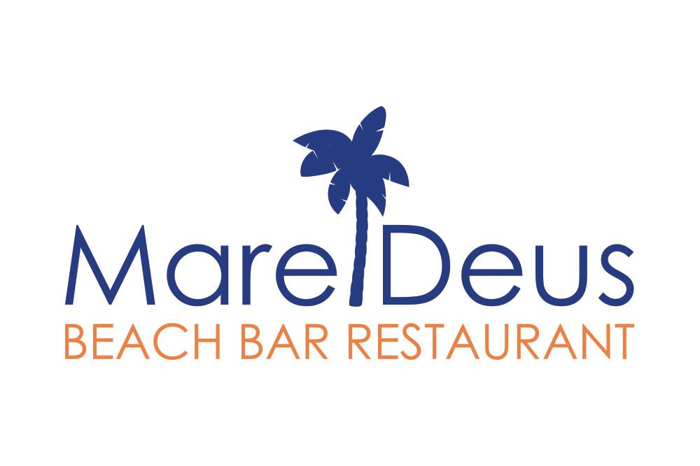 λογότυπο εστιατορίου Mare Deus beach bar