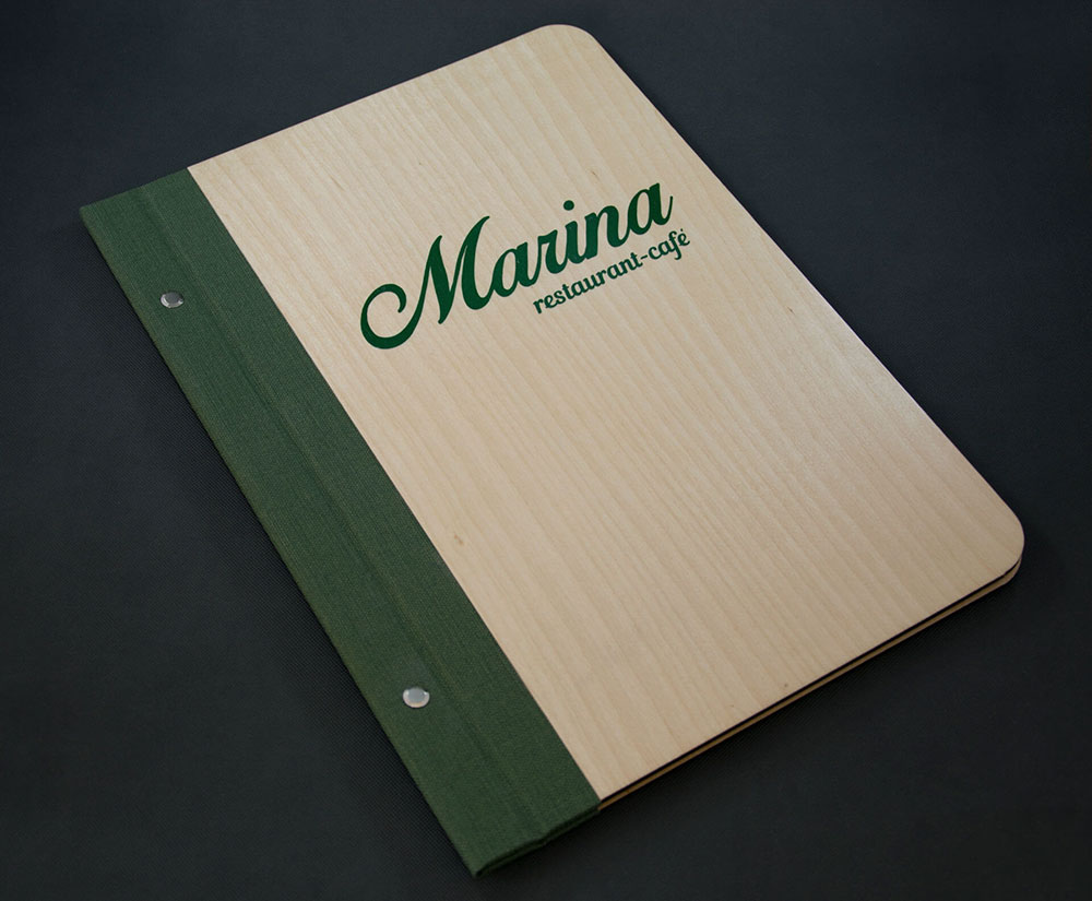 κατάλογος menu Marina Restaurant