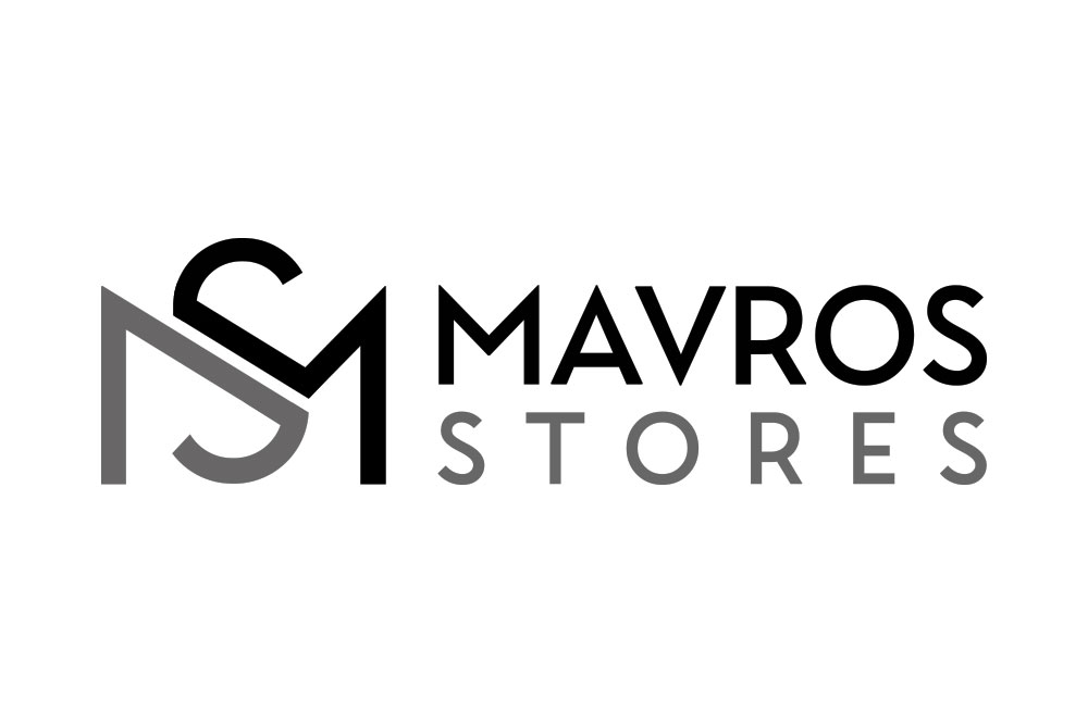λογότυπο καταστήματος ενδυμάτων Mavros Stores