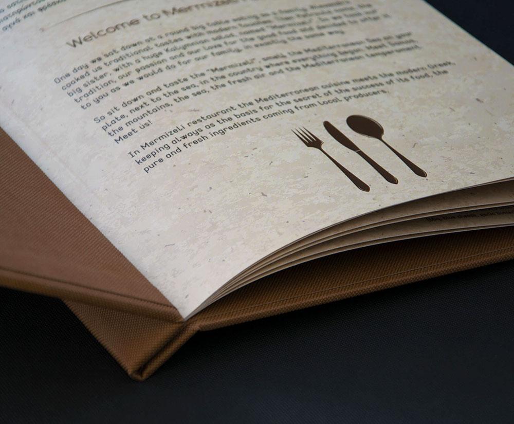 κατάλογος menu Mermizeli Restaurant
