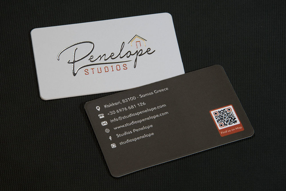επαγγελματική κάρτα Penelope Studios
