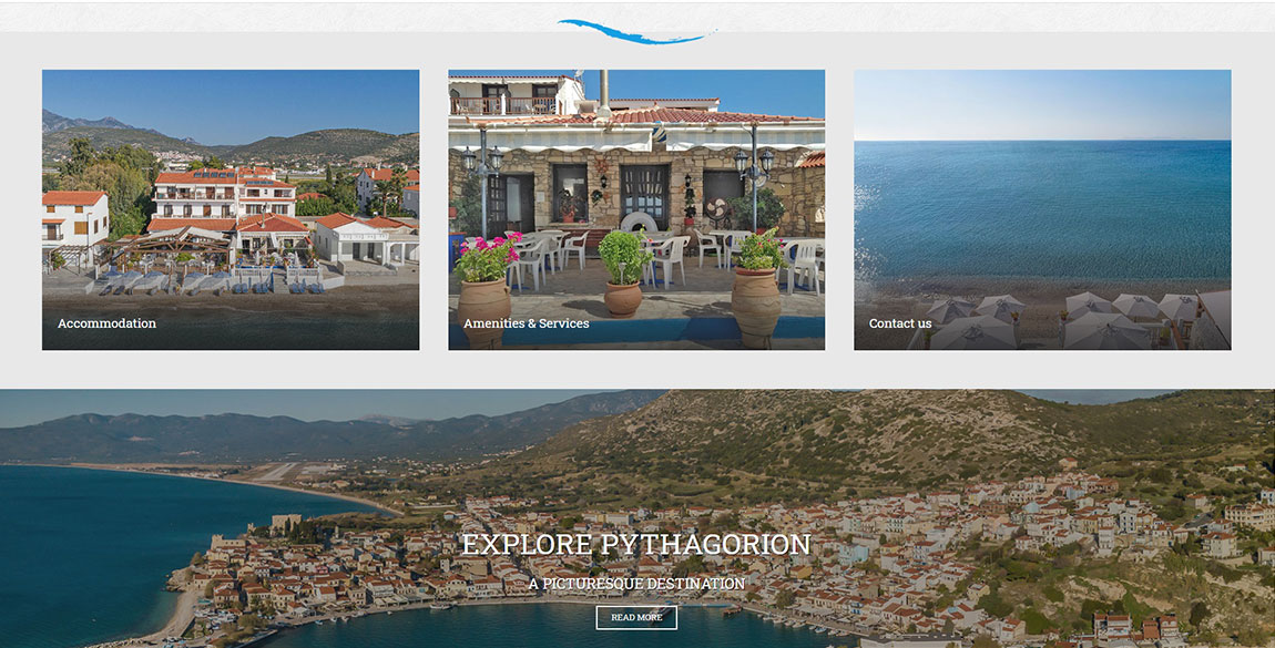 κατασκευή ιστοσελίδας Potokaki Beach Front Hotel