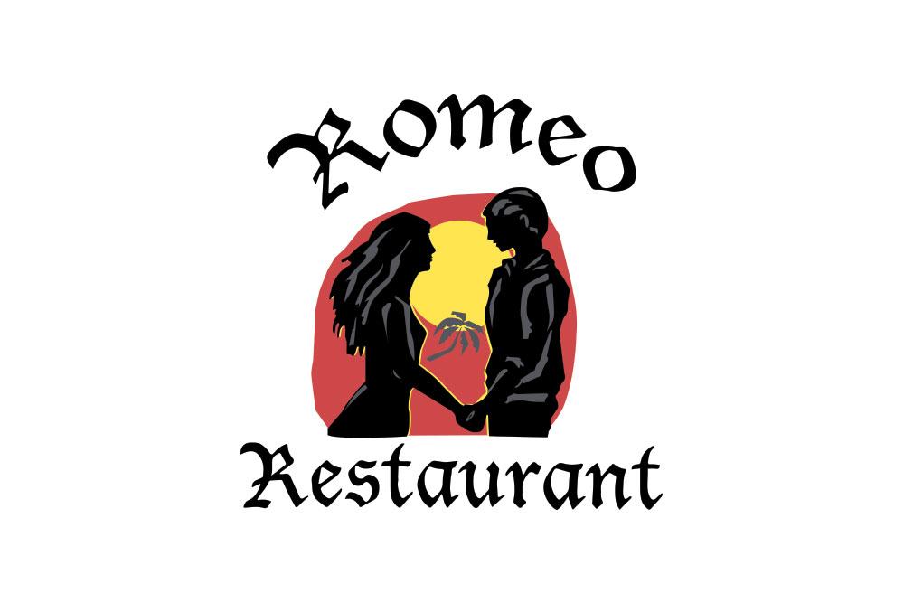 λογότυπο εστιατορίου Romeo