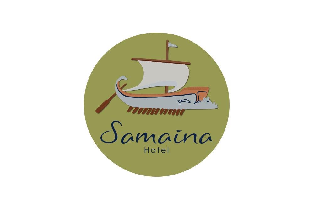 λογότυπο ξενοδοχείου Samaina