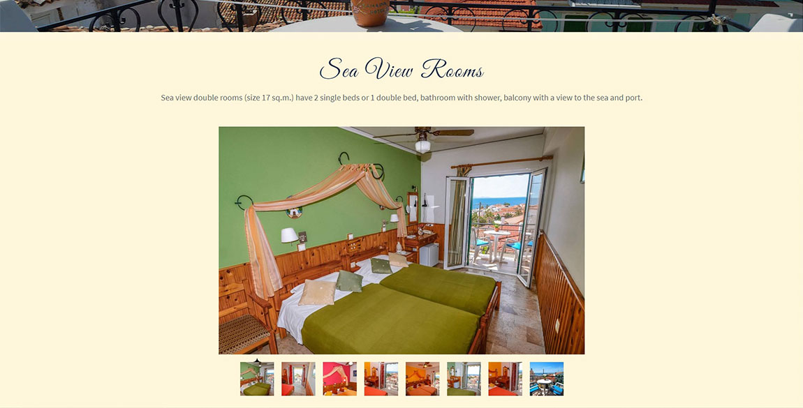 κατασκευή ιστοσελίδας Samaina Hotel