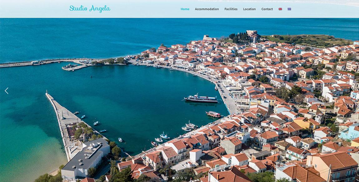 κατασκευή ιστοσελίδας Studio Angela