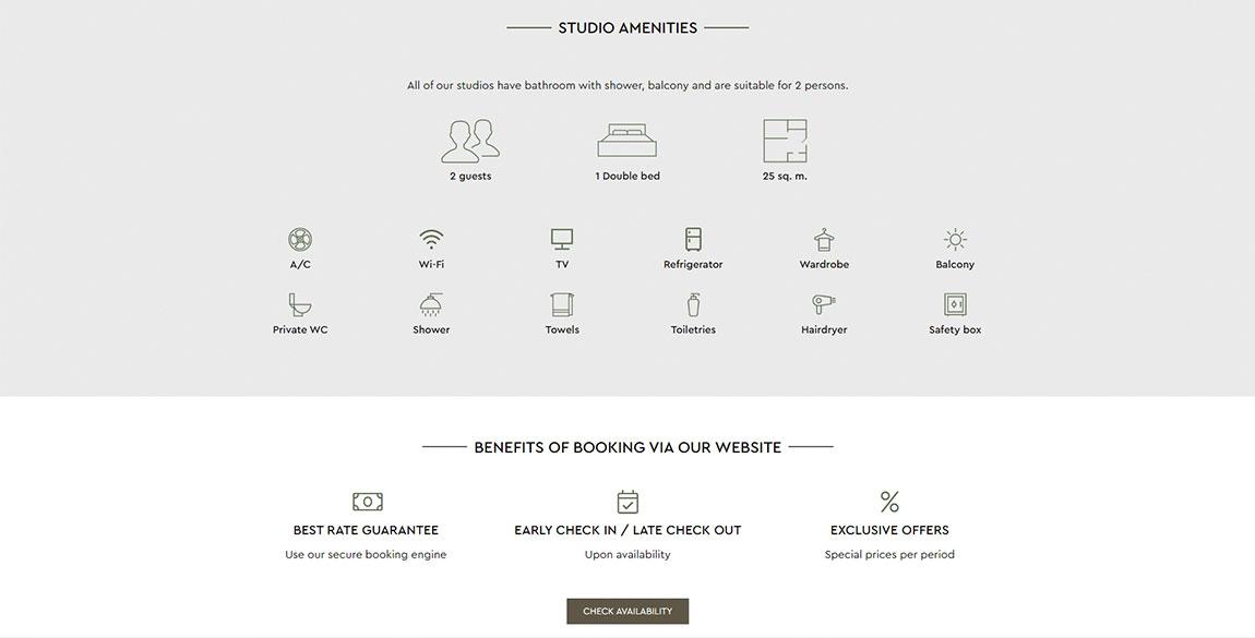 κατασκευή ιστοσελίδας Studios Penelope