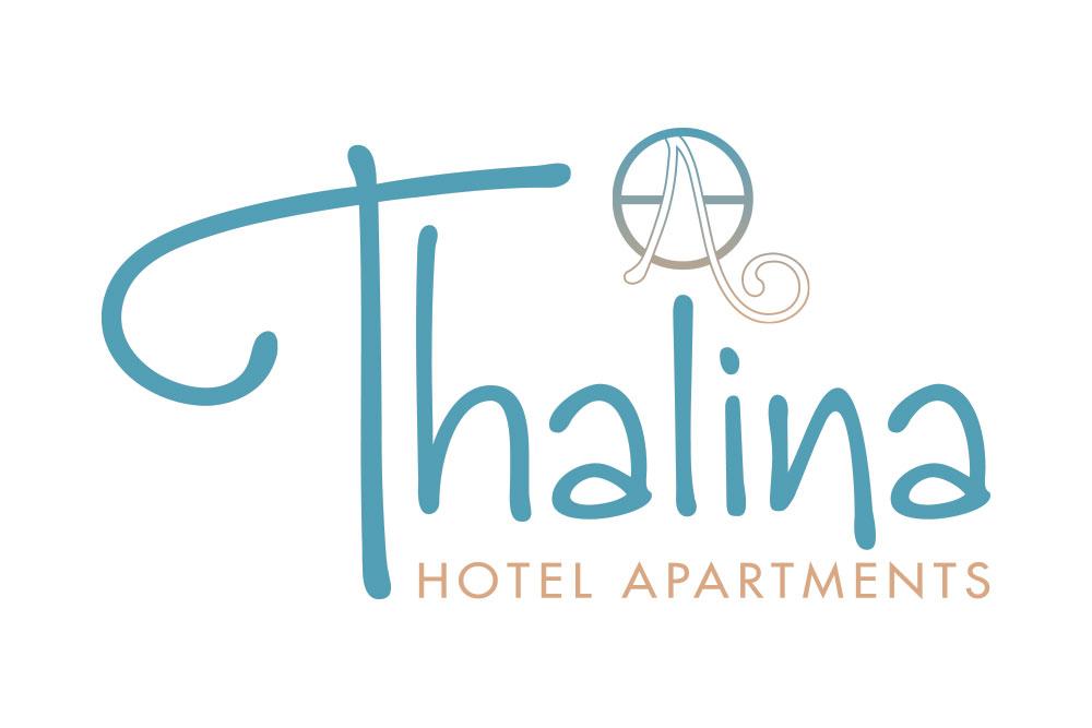 λογότυπο ξενοδοχείου Thalina Hotel Apartments