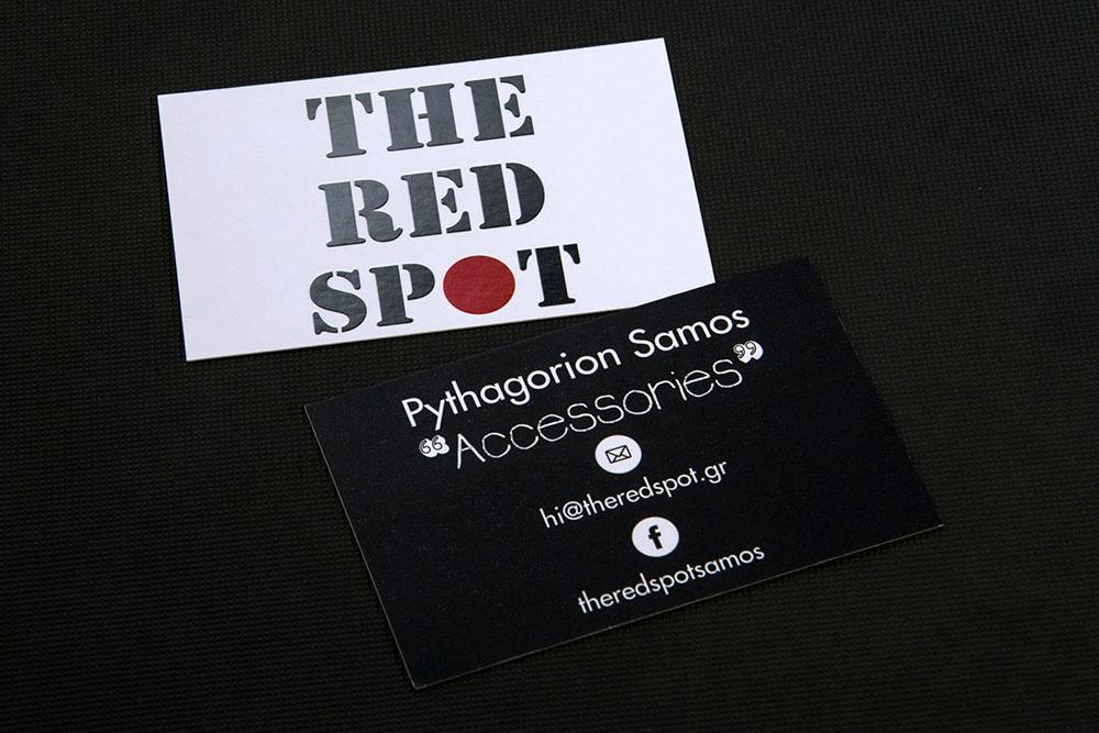 επαγγελματική κάρτα αξεσουάρ The Red Spot