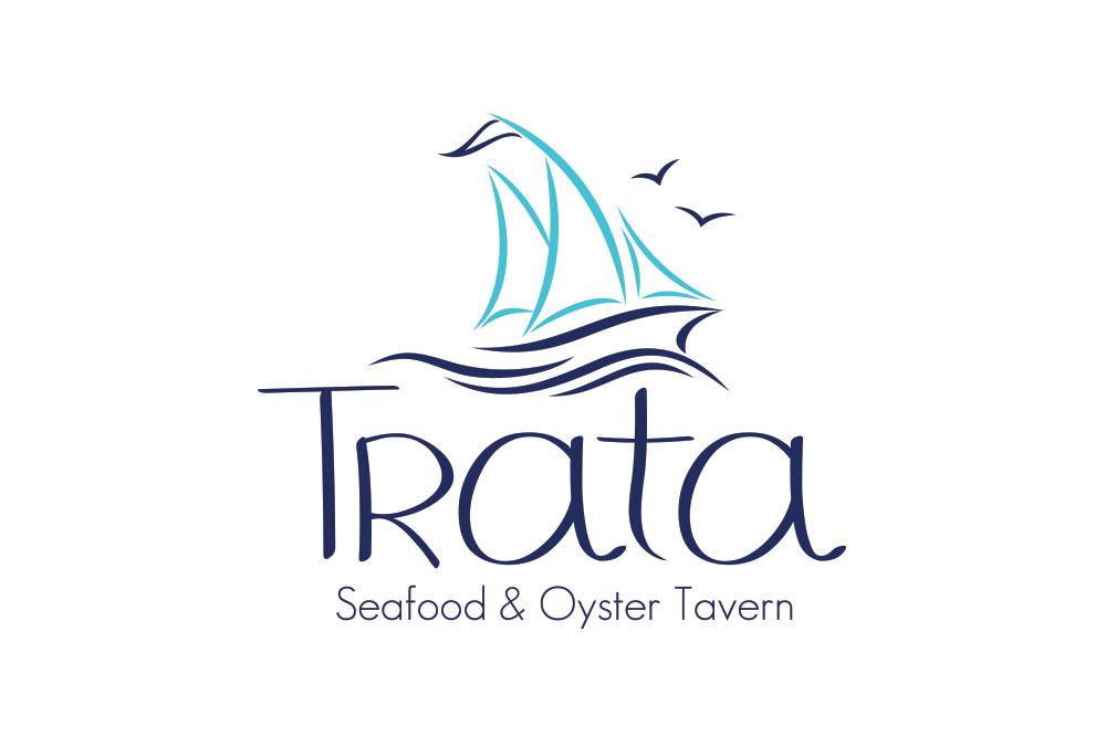 λογότυπο εστιατορίου Trata seafood & oyster tavern