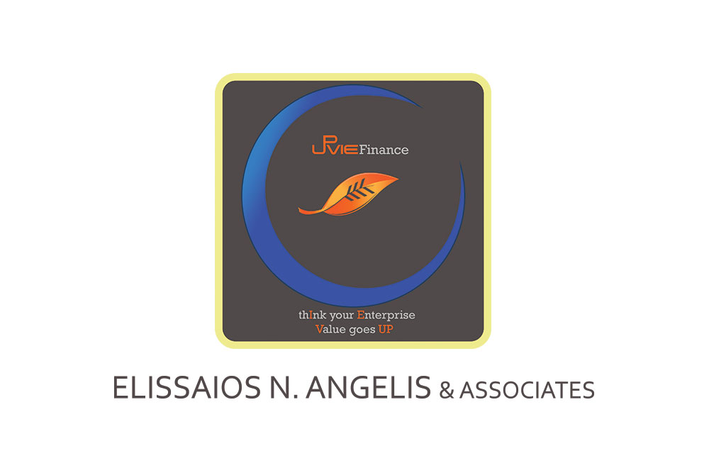 λογότυπο λογιστικού γραφείου UpVie finance Αγγελής