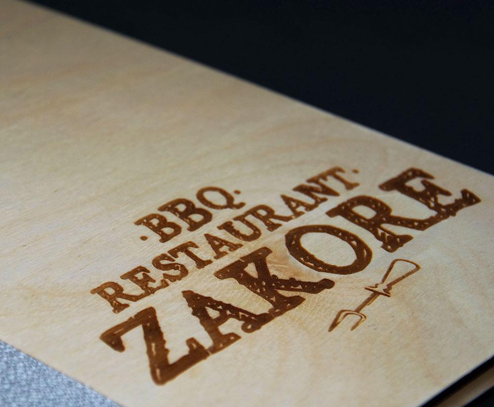 κατάλογος menu Zakore BBQ Restaurant
