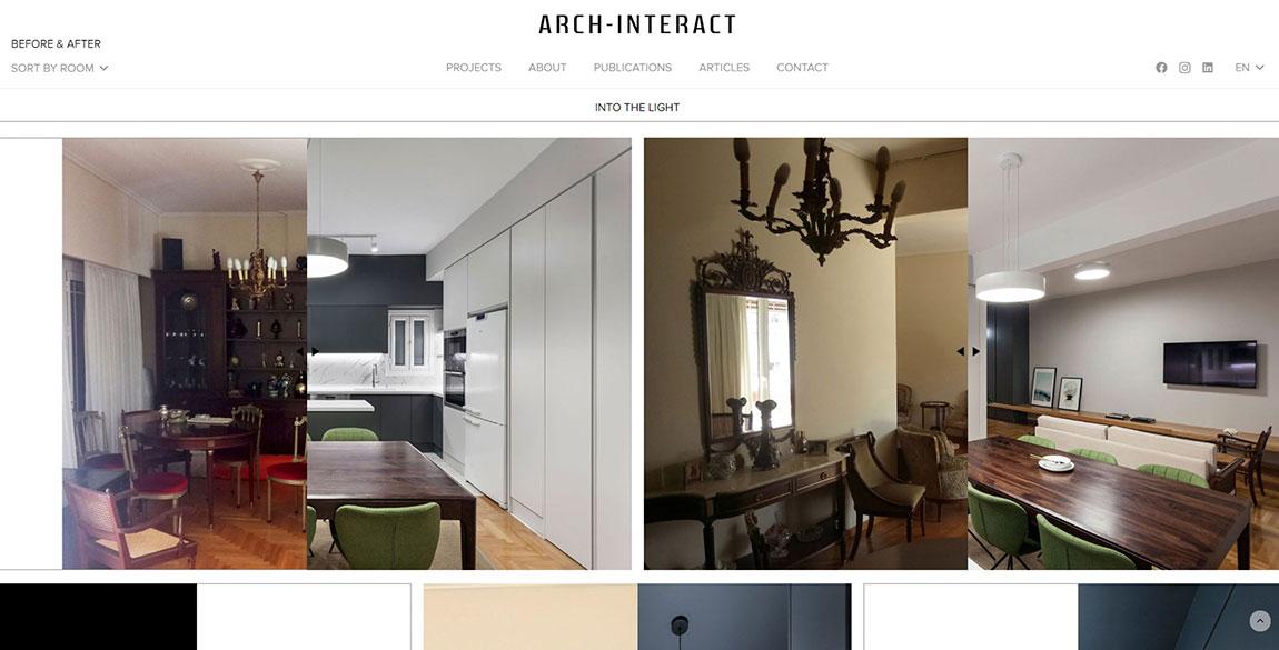κατασκευή ιστοσελίδας ARCH-INTERACT