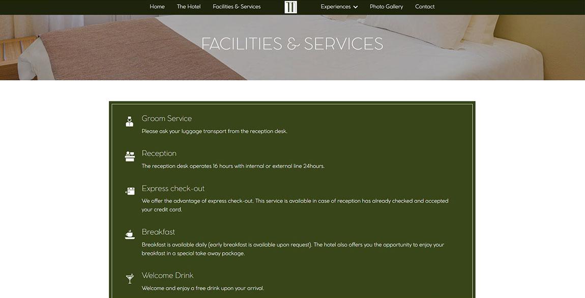 κατασκευή ιστοσελίδας Method Hotel